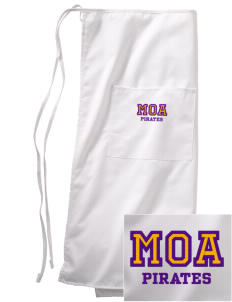 Mount Olive Attendence Center Pirates Embroidered Full Bistro Bib Apron