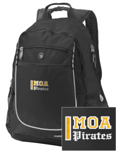 Mount Olive Attendence Center Pirates Embroidered OGIO Carbon Backpack