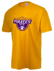 Mount Olive Attendence Center Pirates  Russell Men's NuBlend T-Shirt