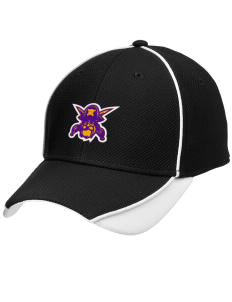 Mount Olive Attendence Center Pirates Embroidered New Era Contrast Piped Performance Cap