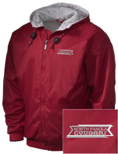 North Panola High School Cougars Embroidered Holloway Men's Hooded Jacket