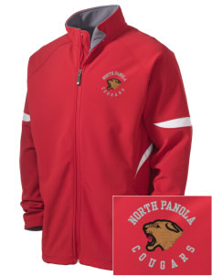North Panola High School Cougars Holloway Embroidered Men's Radius Zip Front Jacket