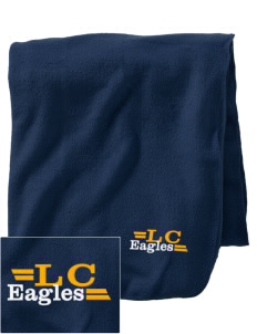 Long Creek Elementary School Eagles Embroidered Holloway Stadium Fleece Blanket