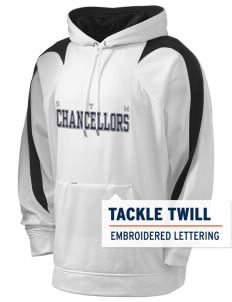St. Thomas More School Chancellors Holloway Men's Sports Fleece Hooded Sweatshirt with Tackle Twill