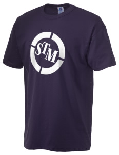 St. Thomas More School Chancellors  Russell Men's NuBlend T-Shirt