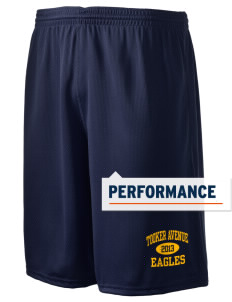 "Tooker Avenue Elementary School Eagles Holloway Men's Speed Shorts, 9"" Inseam"