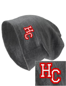 Heritage Christian School Patriots Embroidered Slouch Beanie