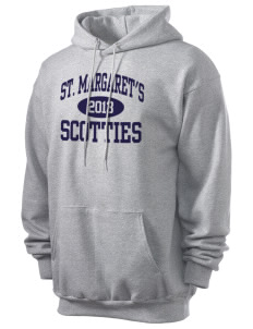 Saint Margaret's School Scotties Men's 7.8 oz Lightweight Hooded Sweatshirt
