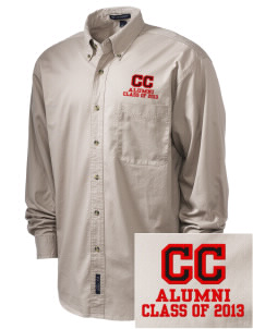 Community Christian School Cougars Embroidered Tall Men's Twill Shirt