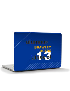 "Brawley Middle School Tigers Apple MacBook Pro 15"" & PowerBook 15"" Skin"