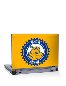 "Brawley Middle School Tigers 15"" Laptop Skin"