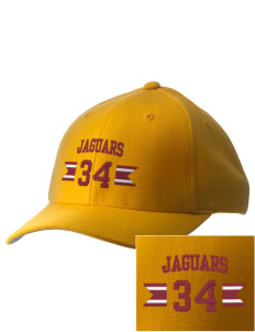 Grove City Christian School Jaguars Embroidered Pro Model Fitted Cap