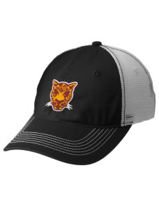 Grove City Christian School Jaguars Embroidered Mesh Back Cap
