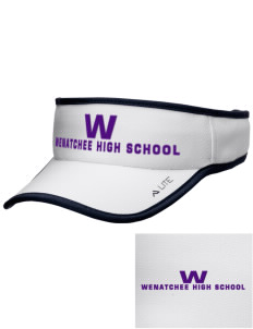 Wenatchee High School Panthers Embroidered Lite Series Active Visor