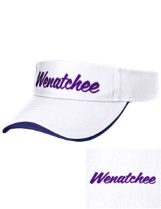 Wenatchee High School Panthers Embroidered Binding Visor