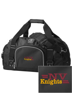 Naches Valley Middle School Knights  Embroidered OGIO Big Dome Duffel Bag