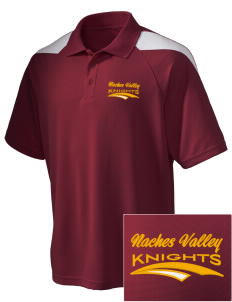 Naches Valley Middle School Knights Embroidered Holloway Men's Frequency Performance Pique Polo