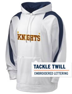 Naches Valley Middle School Knights Holloway Men's Sports Fleece Hooded Sweatshirt with Tackle Twill