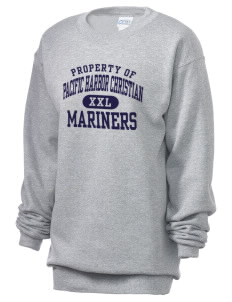 Pacific Harbor Christian School Mariners Unisex 7.8 oz Lightweight Crewneck Sweatshirt