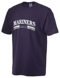 Pacific Harbor Christian School Mariners  Russell Men's NuBlend T-Shirt