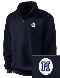 Pacific Harbor Christian School Mariners Embroidered Men's 1/4-Zip Sweatshirt