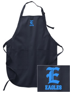Bethlehem Lutheran School Eagles Embroidered Full-Length Apron with Pockets