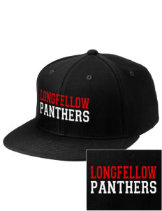 Longfellow Elementary School Panthers Embroidered Diamond Series Fitted Cap