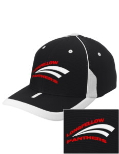 Longfellow Elementary School Panthers Embroidered M2 Universal Fitted Contrast Cap