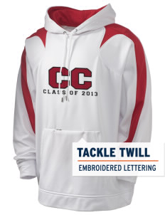 Community Christian School Lions Holloway Men's Sports Fleece Hooded Sweatshirt with Tackle Twill
