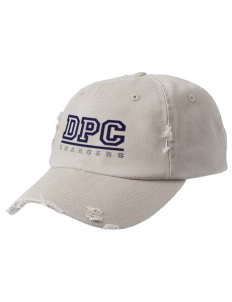 Dana Point Christian School Chargers Embroidered Distressed Cap