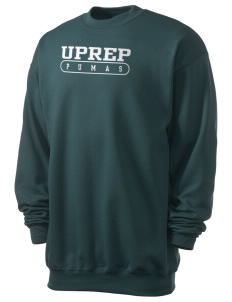University Prep School Pumas Men's 7.8 oz Lightweight Crewneck Sweatshirt