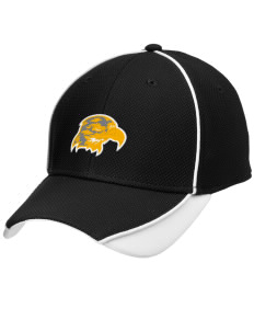 Fairbanks Country Day School Hawks Embroidered New Era Contrast Piped Performance Cap