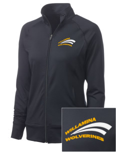 Willamina Middle School Wolverines Women's NRG Fitness Jacket