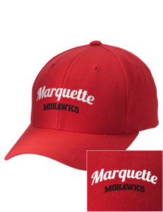 Marquette High School Mohawks Embroidered Wool Adjustable Cap