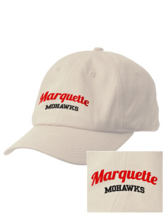Marquette High School Mohawks Embroidered Champion 6-Panel Cap