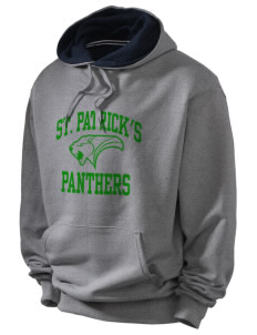 Saint Patrick's School Panthers Champion Men's Hooded Sweatshirt
