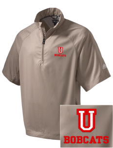 Union High School Bobcats Embroidered adidas Men's ClimaProof Wind Shirt