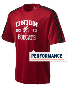 Union High School Bobcats adidas Men's ClimaLite T-Shirt