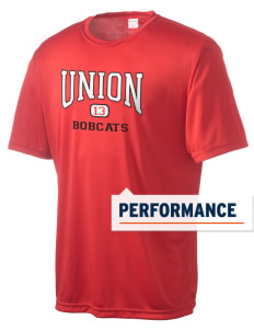 Union High School Bobcats Men's Competitor Performance T-Shirt