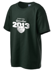 Gilchrist School Grizzlies Kid's 6.1 oz Ultra Cotton T-Shirt