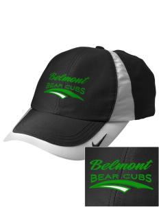 Belmont Elementary School Bear Cubs Embroidered Nike Golf Colorblock Cap