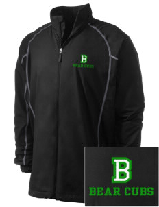 Belmont Elementary School Bear Cubs Embroidered Men's Nike Golf Full Zip Wind Jacket