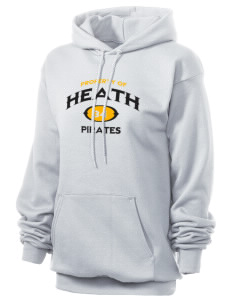 Heath Elementary School Pirates Unisex 7.8 oz Lightweight Hooded Sweatshirt