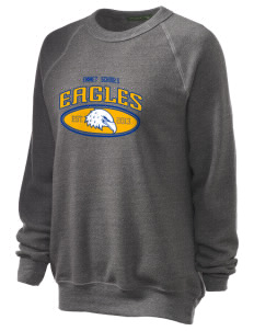 Emmet Schools Eagles Unisex Alternative Eco-Fleece Raglan Sweatshirt