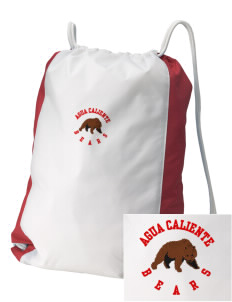Agua Caliente Elementary School Bears Embroidered Holloway Home and Away Cinch Bag