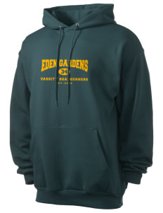 Eden Gardens Elementary School Roadrunners Men's 7.8 oz Lightweight Hooded Sweatshirt