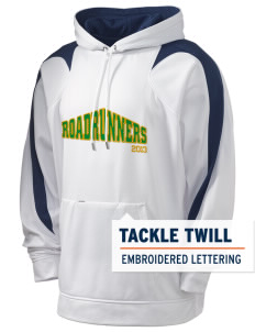 Eden Gardens Elementary School Roadrunners Holloway Men's Sports Fleece Hooded Sweatshirt with Tackle Twill