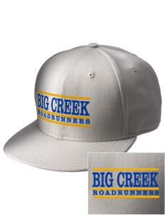 Big Creek Elementary School Roadrunners  Embroidered New Era Flat Bill Snapback Cap
