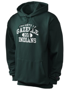 Gazelle Elementary School Indians Champion Men's Hooded Sweatshirt
