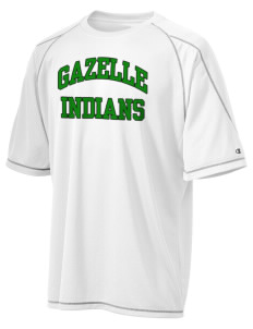 Gazelle Elementary School Indians Champion Men's 4.1 oz Double Dry Odor Resistance T-Shirt